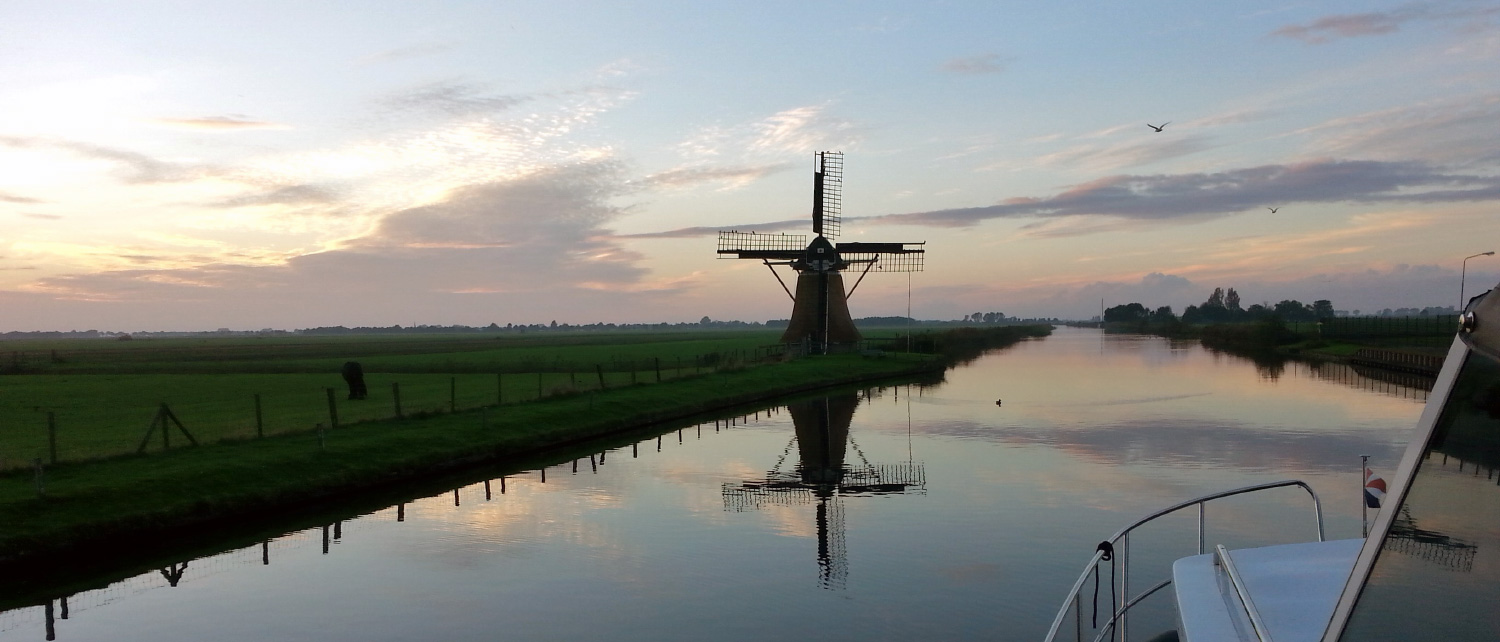 Your luxury boating holiday in Holland starts here